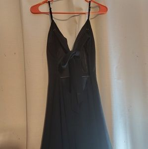 NWT A'GACI BACKLESS DRESS